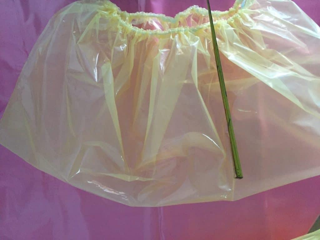 ถุงพลาสติกกันสนิมแบบมีขอบยางยึด