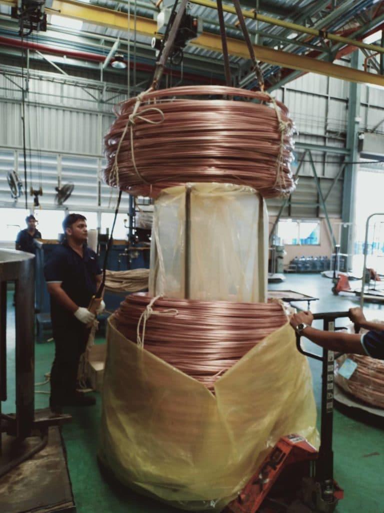 พลาสติกกันสนิมท่อทองแดง