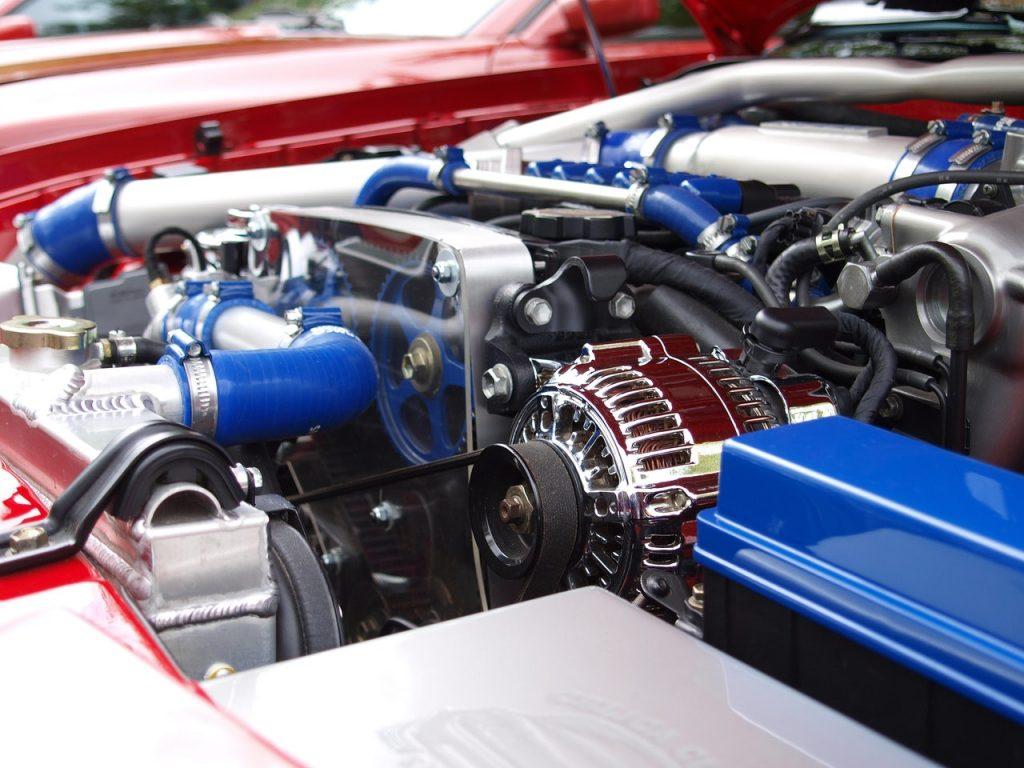 รูปประกอบตัวอย่างเครื่องยนต์ของรถยนต์ GREENVCi THAILAND