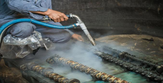 ตัวอย่างภาพการใช้งาน VCi Liquid สารป้องกันสนิมแบบน้ำ โดย GREENVCi THAILAND