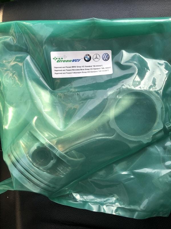 ถุงพลาสติกกันสนิมทำงานอย่างไร